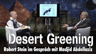 Desert Greening – Madjid Abdellaziz bei SteinZeit