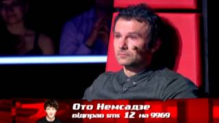 Вакарчук розплакався після виступу Ото Немсадзе