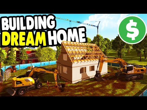 BUILDING my DREAM HOME with BIG CREW | Construction Simulator 2015 Gameplay