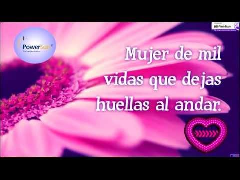 Feliz Día de la mujer: PowerSun -Tarjeta Multimedia en Flash