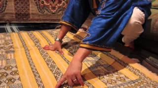 preview picture of video 'Berber Carpet's Symbolism, Fes'
