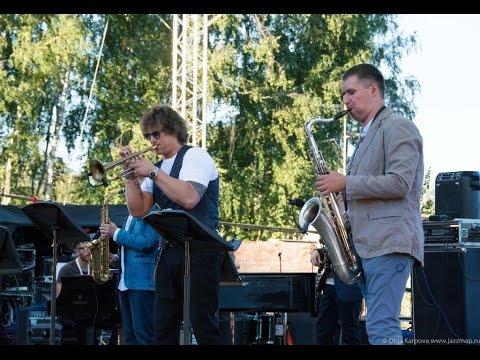 Трубач Вадим Эйленкриг и Eilenkrig Crew на фестивале Skolkovo JAZZ 2016