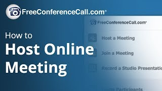How to Host Online Meetings