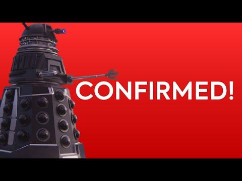 Daleks CONFIRMED for Doctor Who SERIES 12! New Dalek DESIGN LEAKED! (Doctor Who News)