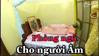 Bí ẩn Căn Phòng Ngủ Cho Người Mất và Mái Tóc Đanh Dài Kỳ Lạ Tại Ngôi Chùa ở Miền Tây | Bùi Hồ TV