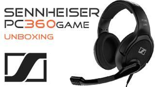 SENNHEISER PC 360 G4ME Headset  Unboxing - Xbox PS3