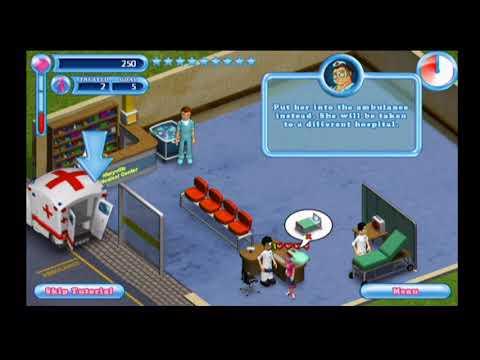 Hysteria Hospital: Emergency ward (Første 10 min) (Wii)