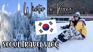 SEOUL IN THE WINTER! 【KOREA VLOG】