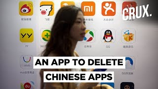 Anti-China Sentiment In India Peaks, New App To Help People Remove Chinese Apps - Download this Video in MP3, M4A, WEBM, MP4, 3GP