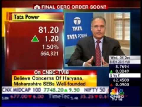 07 CNBC Bazaar Corporate Radar 04 Dec 2013 11min 33sec Mr Anil Sardana MD, TATA Power 10 07am