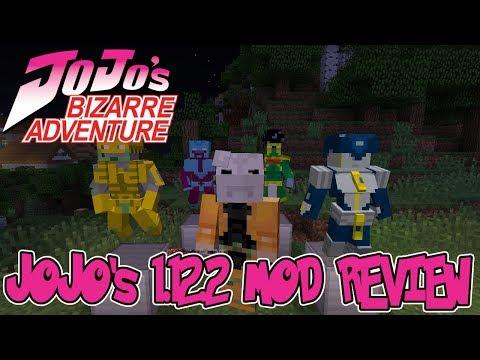 STANDS, VAMPIRES, HAMON & MORE IN 1.12.2! || Minecraft JoJo's Bizarre Adventures Mod Review