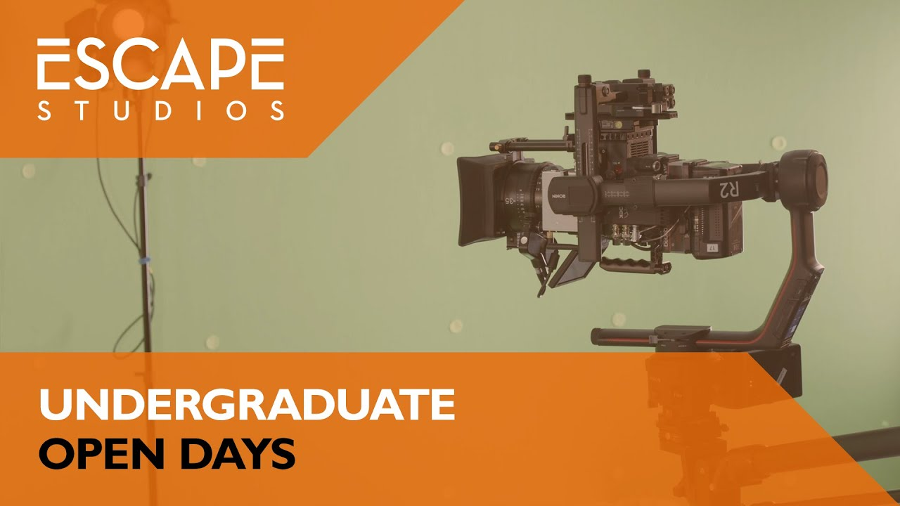 Escape Studios Undergraduate Open Days