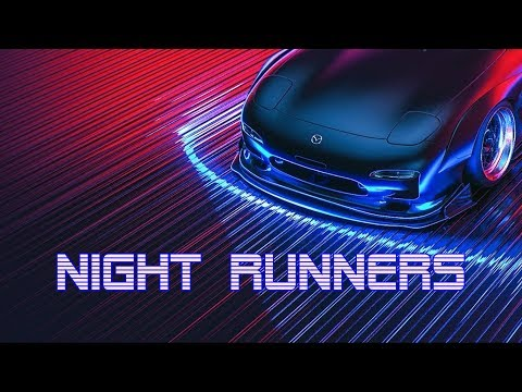 'NIGHT RUNNERS' | Best of Synthwave And Retro Electro Music Mix