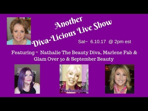 Diva-Licious Live Show - Saturday, June 10th - 2pm  EST -SAVE THE DATE!!