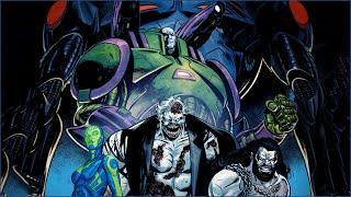 Lex Luthor Defeats The Batman Who Laughs