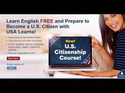 NEW COURSE: USALearns Citizenship - YouTube