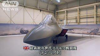 【報ステ】戦闘機開発の最前線 英軍事企業を取材(19/03/26)