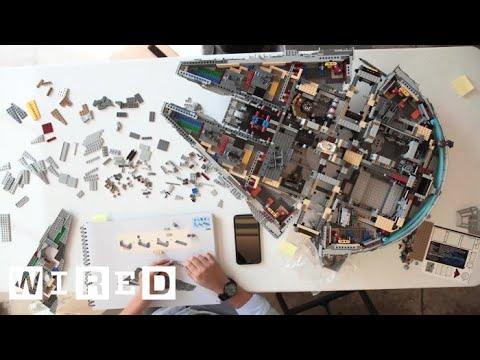 Nu är världens största Legoset här – Millennium Falcon från Star Wars!