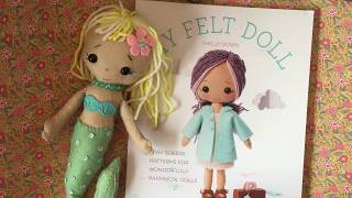 Craft Book Review Of My Felt Doll And Project Share