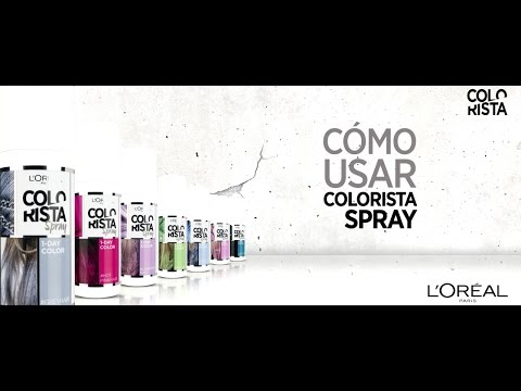 COLORISTA L'ORÉAL | Cómo Usar Colorista Spray Fácilmente