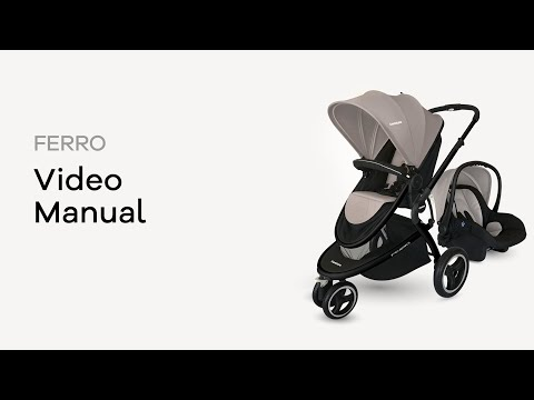 Coche Ferro Jogger Carestino Verde video
