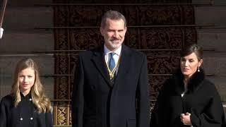 S.M. el Rey preside la apertura solemne de las Cortes Generales de la XIV Legislatura