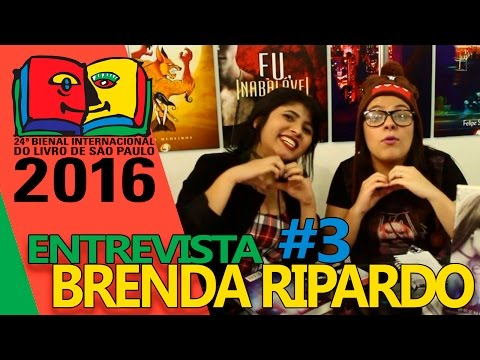 Bienal do Livro de SP | Entrevista com a autora Brenda Ripardo
