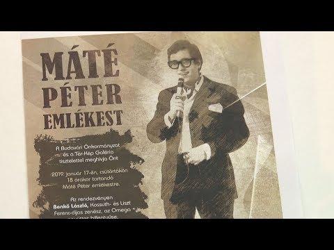 Tér-Kép Galéria - Máté Péter emlékest - video preview image