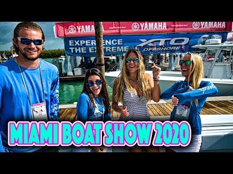 Miami Boat Show: HUGE Boats, NEW Gear & PLENTY of Fish Tips