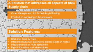RMC Supply chain  management solution