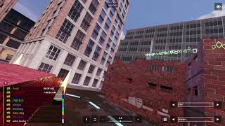 DCL Game FPV 드론레이싱 시뮬레이션 PROPTOWN PLAZA PANIC