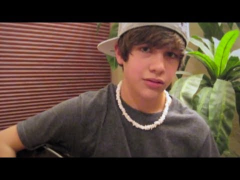 One Time Justin Bieber acoustic cover - Austin Mahone
