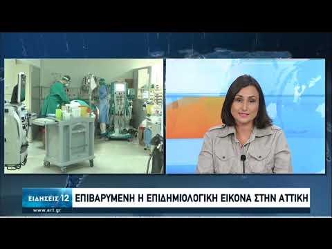 Κορωνοϊός | Επιβαρυμένη η επιδημιολογική εικόνα στην Αττική | 09/10/2020 | ΕΡΤ