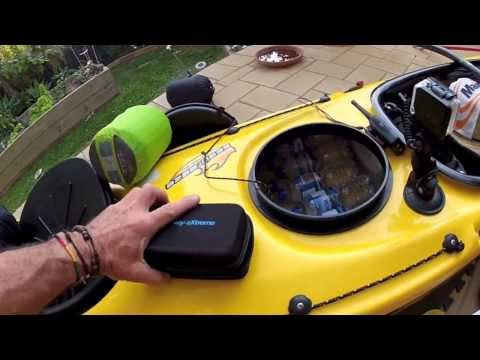 How to pack a kayak - Steve Jones
