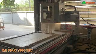 MÁY CNC 3D 5 Trục Thay dao tự động Woodmaster gia công hoàn thiện nhiều công đoạn
