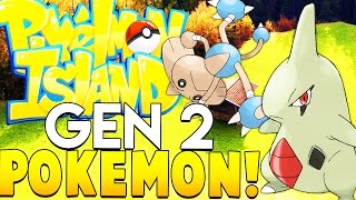 GENERATION 2 POKEMON ARE FINALLY HERE - Minecraft Pixelmon Island - Pokemon Mod