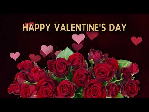 💖Happy Valentine`s Day!💖4k Best Animated Greeting Card for you!