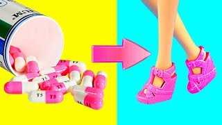 DIY Barbie Dresses | Making Easy No Sew Clothes for Barbies Dolls Creative Fun for Kids