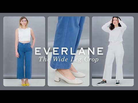 Everlane Presents: Styling Cheat Sheet Episode 1: The Wide Leg Crop