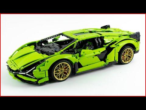Vidéo LEGO Technic 42115 : Lamborghini Sián FKP 37