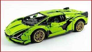 Lắp ráp bộ LEGO Technic Lamborghini Sián FKP 37