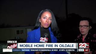 Early morning mobile fire ruins food for those in need