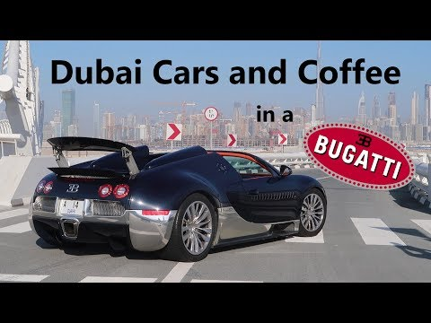 Going To Dubai Cars & Coffee In A Bugatti