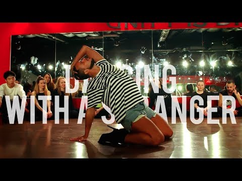 """YANIS MARSHALL HEELS CHOREOGRAPHY """"DANCING WITH A STRANGER"""" SAM SMITH FEAT NORMANI"""