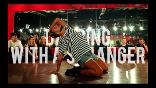 "YANIS MARSHALL HEELS CHOREOGRAPHY ""DANCING WITH A STRANGER"" SAM SMITH FEAT NORMANI"