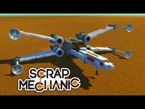 Star Wars X-Wing - Scrap Mechanic - Nakashi