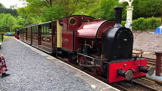 The Corris Railway A Journey Up And Down The Dulas Valley to Maespoeth In May 2018