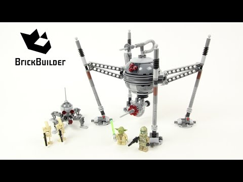 Vidéo LEGO Star Wars 75142 : Homing Spider Droid