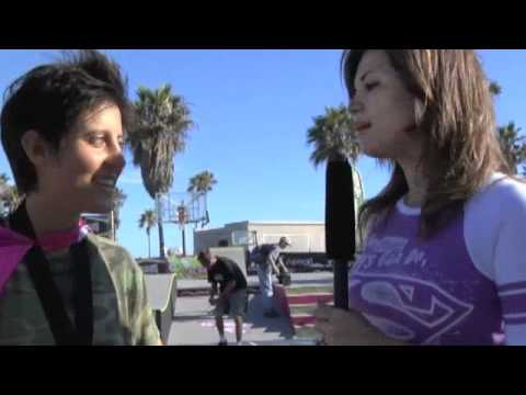 its Shirley Good and Alexis Sablone -Skateboard Champ @ SuperGirl Jam 2010 in Venice Beach .m4v