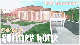 Cozy Summer Home 186k | ROBLOX Bloxburg